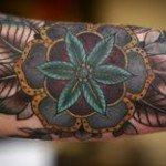 Flower Tattoo for Men (17)