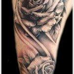 Flower Tattoo for Men (18)