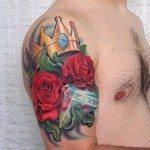 Flower Tattoo for Men (8)