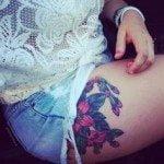 flower-tattoos-for-girls-22