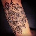 flower-tattoos-for-girls-26