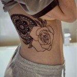 flower-tattoos-for-girls-5