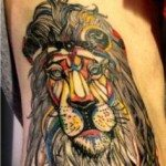 lion-tattoos-for-girls-23