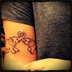 Mother Daughter Tattoo Ideas 15