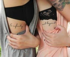 Mother Daughter Tattoo Ideas 3