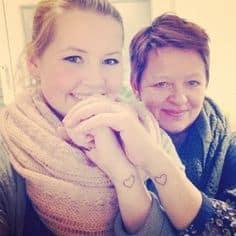 Mother Daughter Tattoo Ideas 30