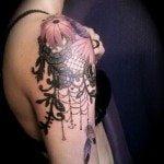 shoulder-tattoos-for-girls-27
