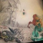 stomach-tattoo-for-girls-17