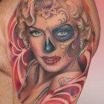sugar-skull-tattoos-for-girls-10