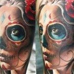 sugar-skull-tattoos-for-girls-11