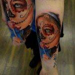 sugar-skull-tattoos-for-girls-12