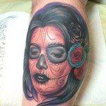 sugar-skull-tattoos-for-girls-14