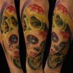 sugar-skull-tattoos-for-girls-15