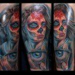 sugar-skull-tattoos-for-girls-16