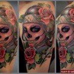 sugar-skull-tattoos-for-girls-17
