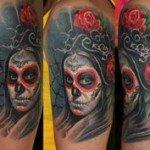 sugar-skull-tattoos-for-girls-19