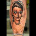 sugar-skull-tattoos-for-girls-22