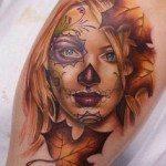 sugar-skull-tattoos-for-girls-23