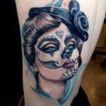 sugar-skull-tattoos-for-girls-27