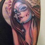 sugar-skull-tattoos-for-girls-28
