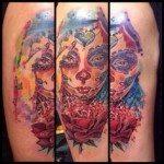 sugar-skull-tattoos-for-girls-3