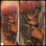 sugar-skull-tattoos-for-girls-30