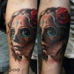 sugar-skull-tattoos-for-girls-36