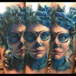 sugar-skull-tattoos-for-girls-37