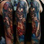 sugar-skull-tattoos-for-girls-39