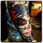 sugar-skull-tattoos-for-girls-41