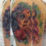 sugar-skull-tattoos-for-girls-44