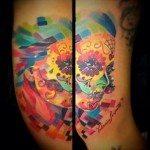 sugar-skull-tattoos-for-girls-47