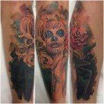 sugar-skull-tattoos-for-girls-5