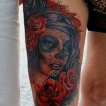 sugar-skull-tattoos-for-girls-50