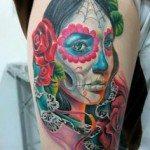 sugar-skull-tattoos-for-girls-57