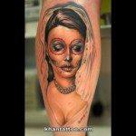 sugar-skull-tattoos-for-girls-6