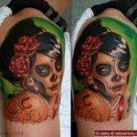 sugar-skull-tattoos-for-girls-66