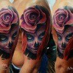 sugar-skull-tattoos-for-girls-7