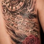 Clock Tattoo Meaning 45 Ideas And Designs