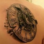 Clock tattoo meaning ideas for What does a clock tattoo mean