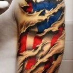 American Flag Tattoo Meaning 2