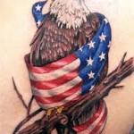 American Flag Tattoo Meaning 26