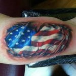 American Flag Tattoo Meaning 27