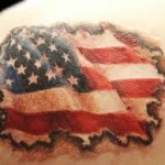 American Flag Tattoo Meaning 37