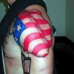 American Flag Tattoo Meaning 44