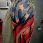 American Flag Tattoo Meaning 9