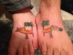 Best Friend Tattoos 41
