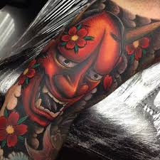 Hannya Mask Tattoo Meaning Ideas, & Designs | Japanese