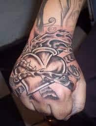 Sacred Heart Tattoo 12