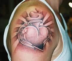 Sacred Heart Tattoo 13